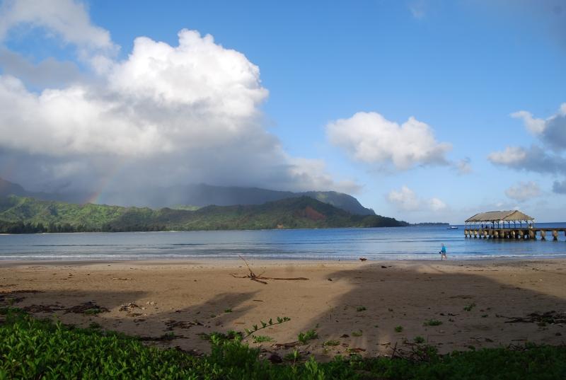 Hanalei Beach