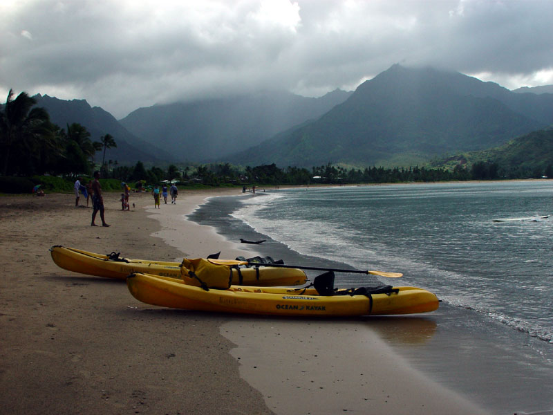 Kayak the Pacific from your backyard
