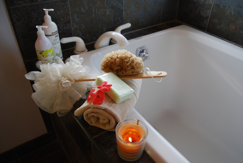 Pamper yourself with a relaxing bath