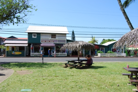 Clothing, jewelry and art boutiques in Hanalei