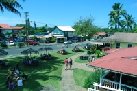 The charming village of Hanalei