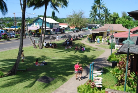 Charming Hanalei town is within walking distance