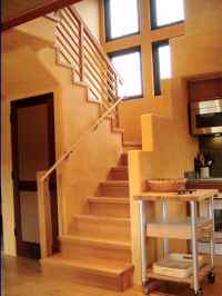 Stairs tho the Master Suite
